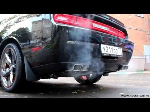 Dodge Challenger R/T HEMI 5.7 Exhaust sound STOCK vs BORLA