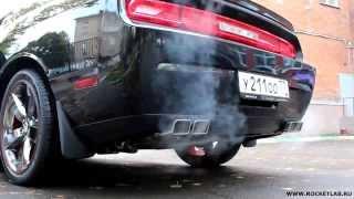 Dodge Challenger R/T HEMI 5.7 Exhaust sound STOCK vs BORLA