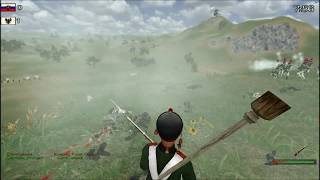 Mount & Blade Warband - Napoleonic Wars . Commander battle . artilliry . review