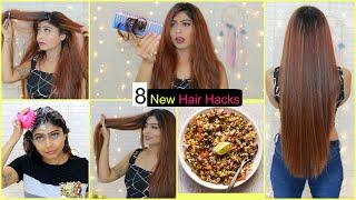8 NEW LIFE Saving HAIR HACKS You MUST TRY | #BeautyHacks #RinkalSoni