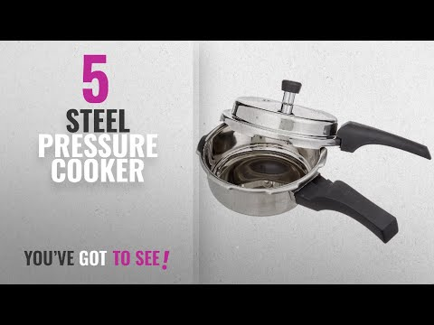 Top 10 Steel Pressure Cooker [2018]: Prestige Deluxe Alpha Outer Lid Stainless Steel Pressure