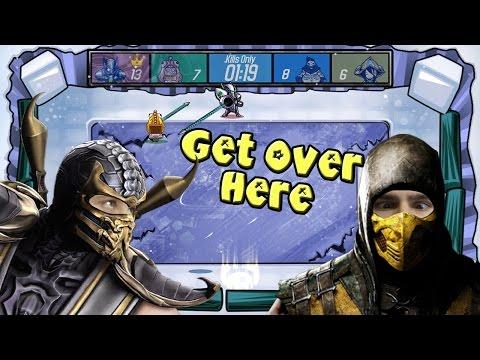 Get Over Here ♦Симулятор Скорпиона♦ [ИНДИ ИГРЫ НА ДВОИХ]