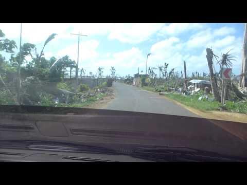 eastern samar typhoon yolanda with Bryan Thomas