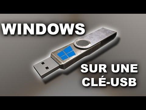 Comment Installer Windows SUR Une Clé USB (Windows 10/8.1/7)