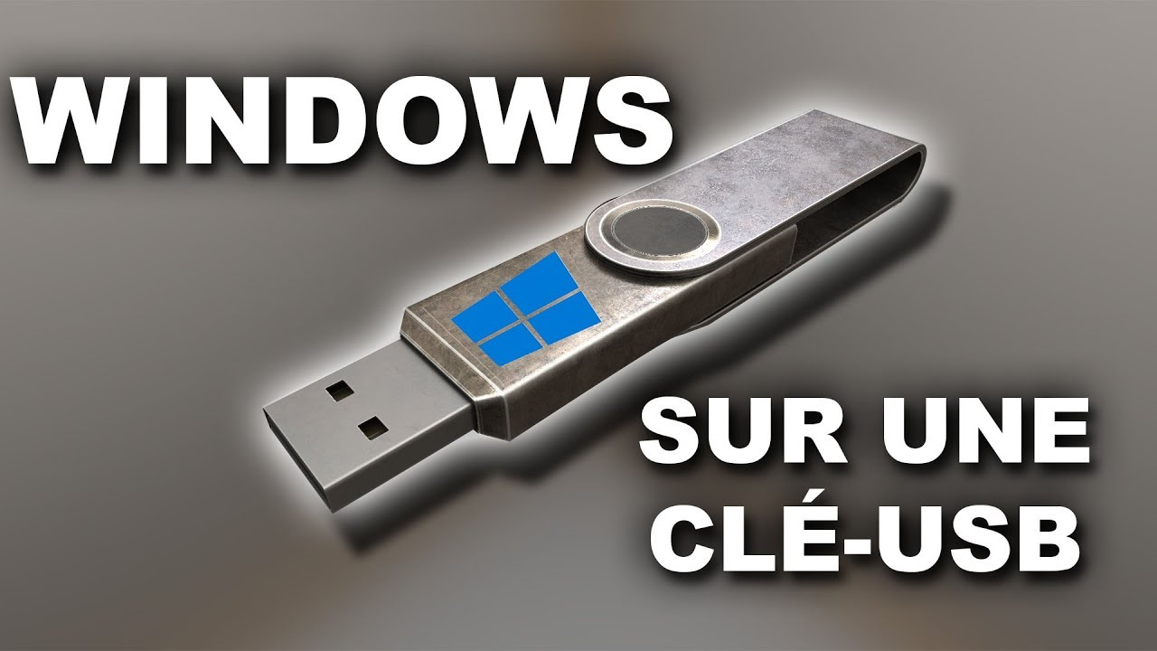 comment installer windows sur une cl usb windows 10 8 1 7 youtube. Black Bedroom Furniture Sets. Home Design Ideas