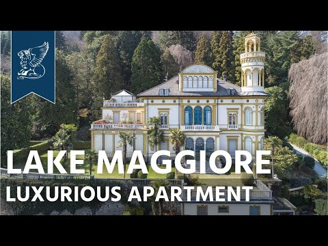 Luxurious apartment for sale by Lake Maggiore | Piedmont, Italy - Ref. 3795