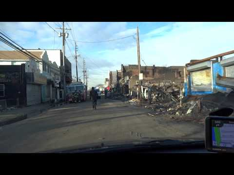 Rockaway after Sandy hurricane
