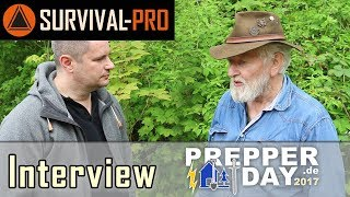 Interview Tony Lennartz Thema: das ideale Messer für den Fluchtrucksack