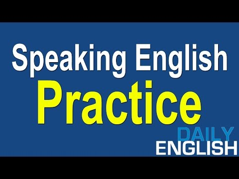 Speaking English Practice Conversation | Questions and Answe