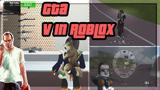 """GRAND THEFT AUTO V COMES TO ROBLOX """"WANTED"""""""