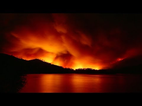 Intense California wildfires creating new weather systems