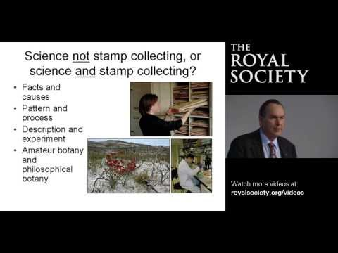 Science not stamp collecting - the importance of botany from