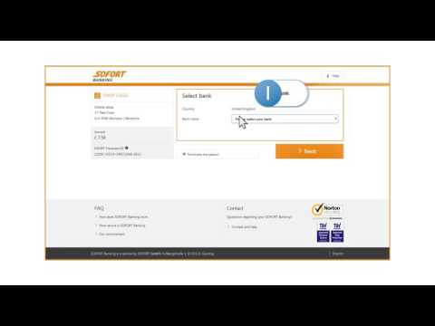 SOFORT Banking: Direct payment via online banking