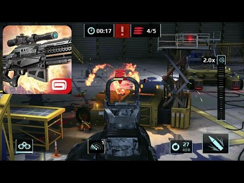 Sniper Fury: Best Shooter Game Gameplay Part 4 - First Person Shooter (Android/iOS)