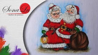 Casal Noel (Parte 1) por Sonalupinturas