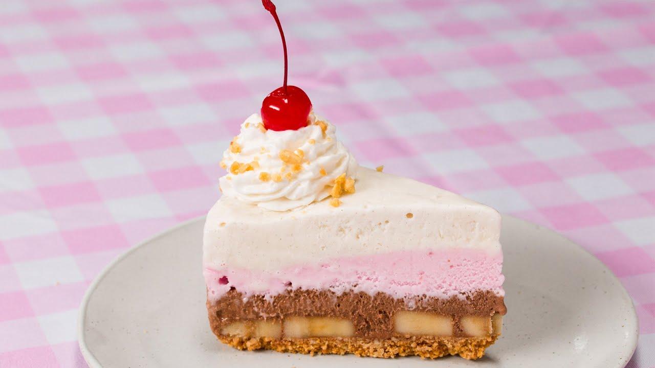 maxresdefault - Banana Split Ice Cream Pie