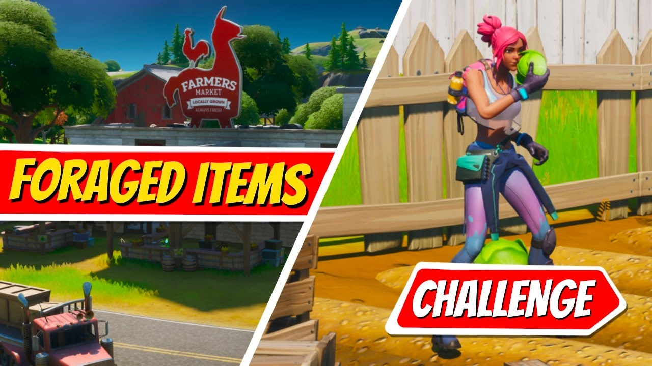 Gather Or Consume Foraged Items At The Orchard - FORTNITE CHALLENGES GUIDE!