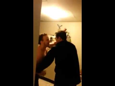 Guy Kicks Out His Roommate With a Thunderous Headbutt