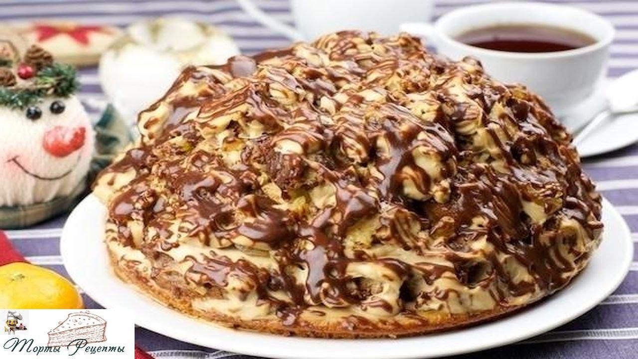 торт кучерявый ванька фото рецепт