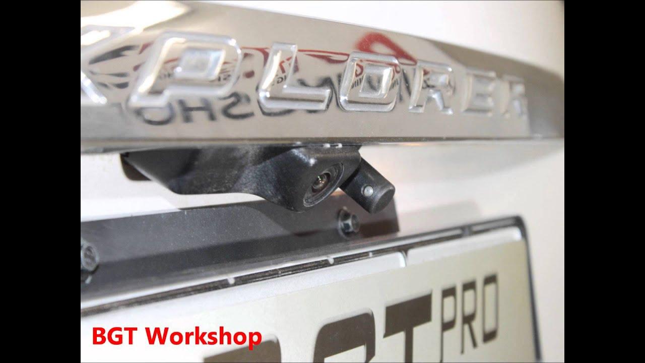 Омыватель задней камеры на примере Ford Explorer (5th generation)