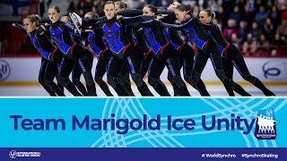 Marigold Ice Unity (FIN)   Helsinki 2019   #WorldSynchro