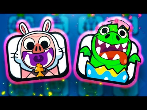 NEW Easter Egg EMOTES Hit the SHOP & CHALLENGES in Clash Royale!