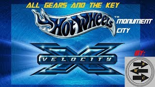 Hot Wheels Velocity X   Gameplay   Joyride   Moument City   All Gears And Key