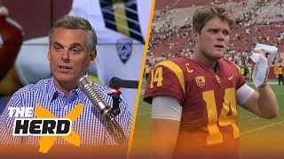 It isn't fair to compare USC's Sam Darnold and UCLA's Josh Rosen | THE HERD