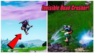 Make your QUADCRASHER invisible in fortnite (New) Fortnite Glitches PS4/Xbox one