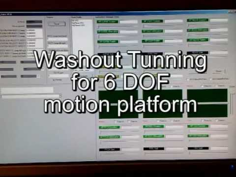 6 dof washout software (tuning parameters)