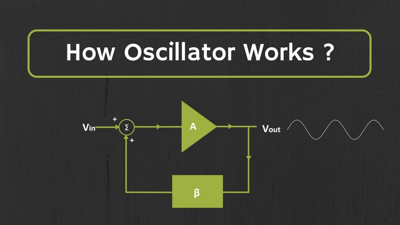 How Oscillator Works ? The Working Principle of the Oscillator Explained