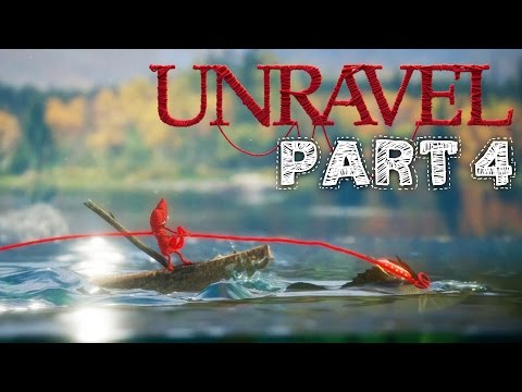 Unravel Gameplay Walkthrough Part 4 - MOUNTAIN TREK Chapter 4 All Collectibles & Secrets