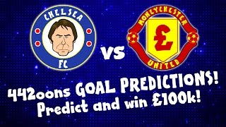 WIN 100k - Chelsea vs Man Utd Preview (with Zlatan, Rooney and Costa 2016)