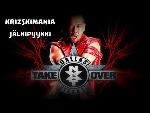 The Krizski - Jälkipyykki NXT Takeover: Dallas