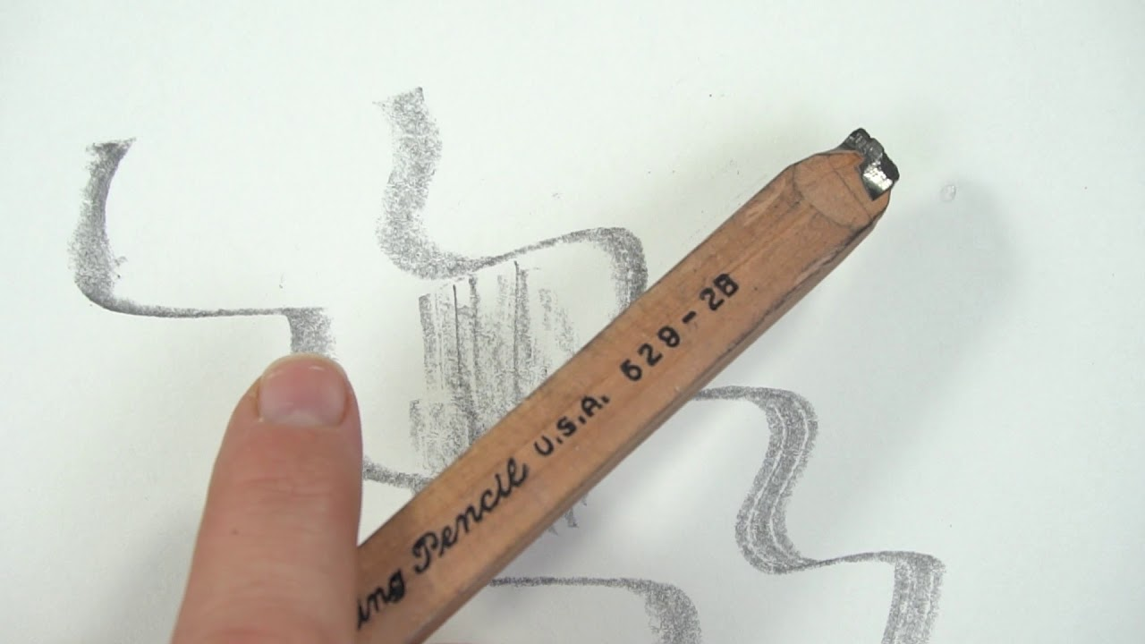 What types of pencils to use for drawing intro to pencils