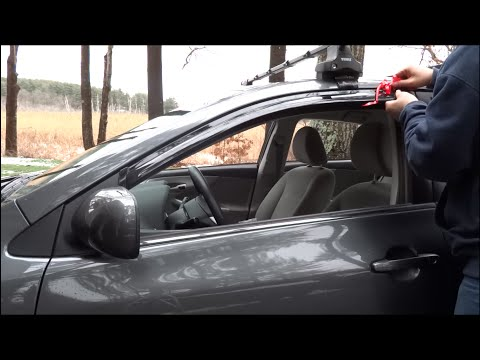 How to Install Window Visors on Your Car