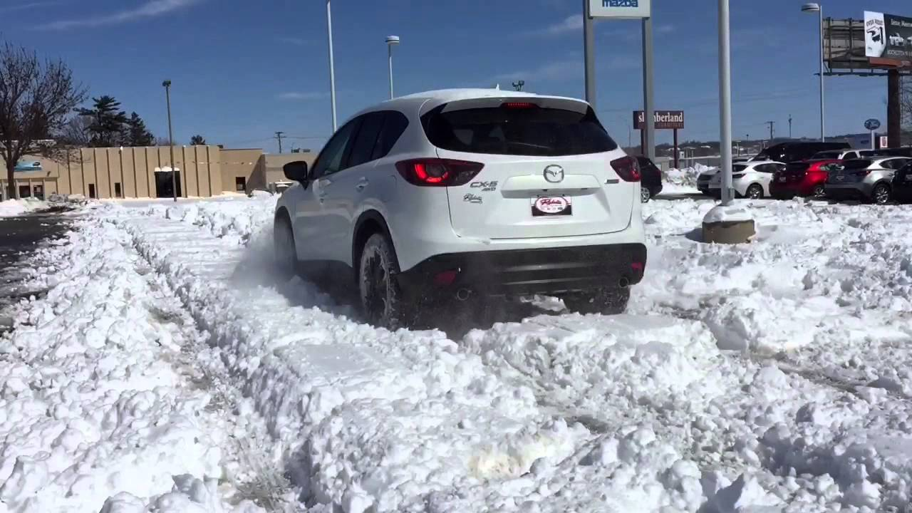 mazda cx-5 'snow problem' - youtube