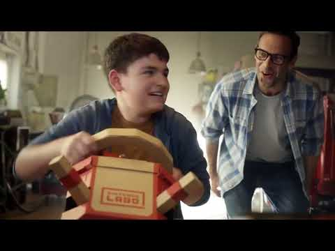 Nintendo Labo Vehicle Kit - Video