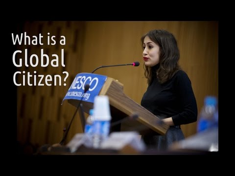 Global citizenship is…