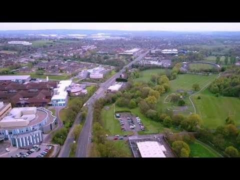 Lyme Valley - Newcastle Under Lyme (Timelapse With DJI Mavic Drone)