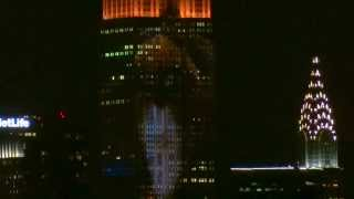 New York, New York - Empire State Building Projecting Images of Endangered Species HD (2015)