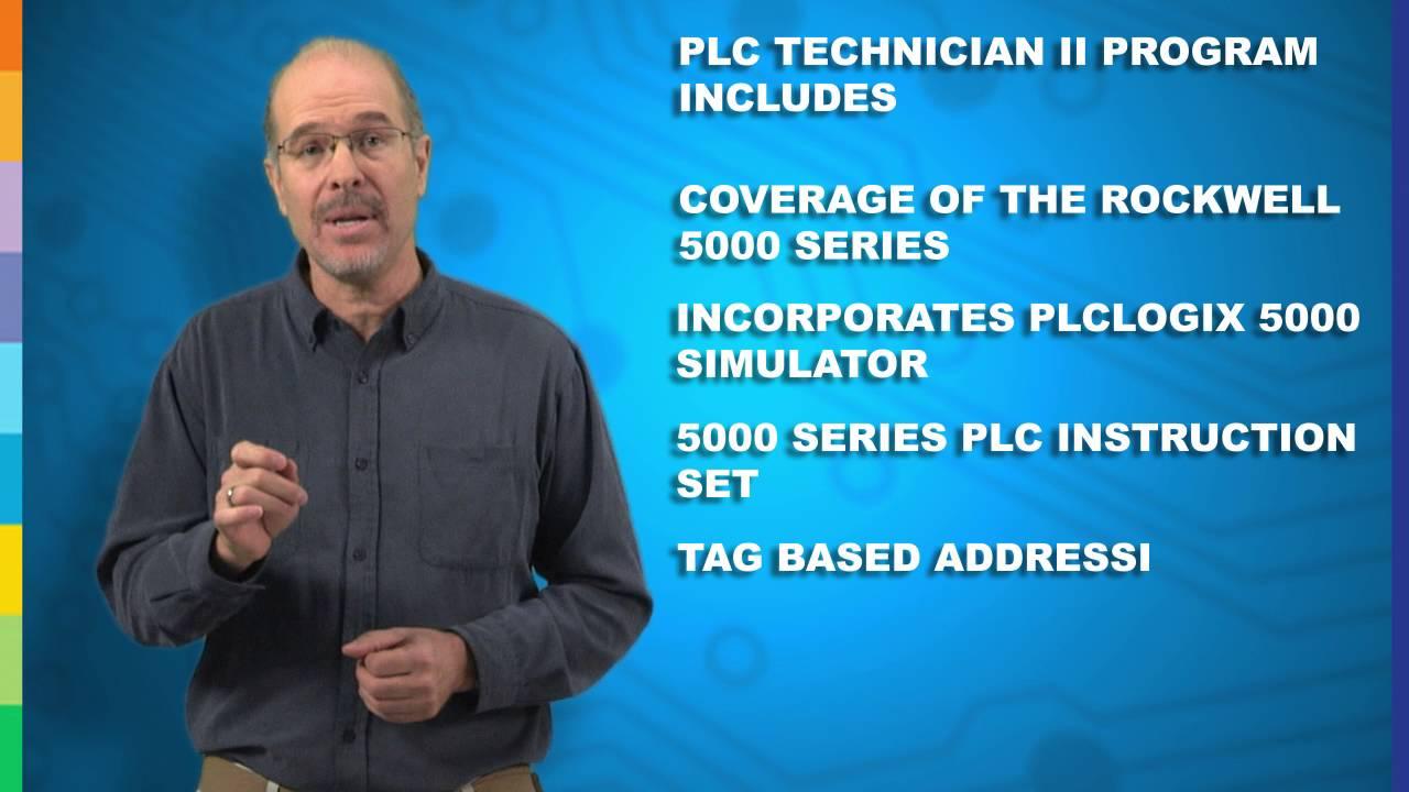 PLC II Certificate Program   PLC Technician