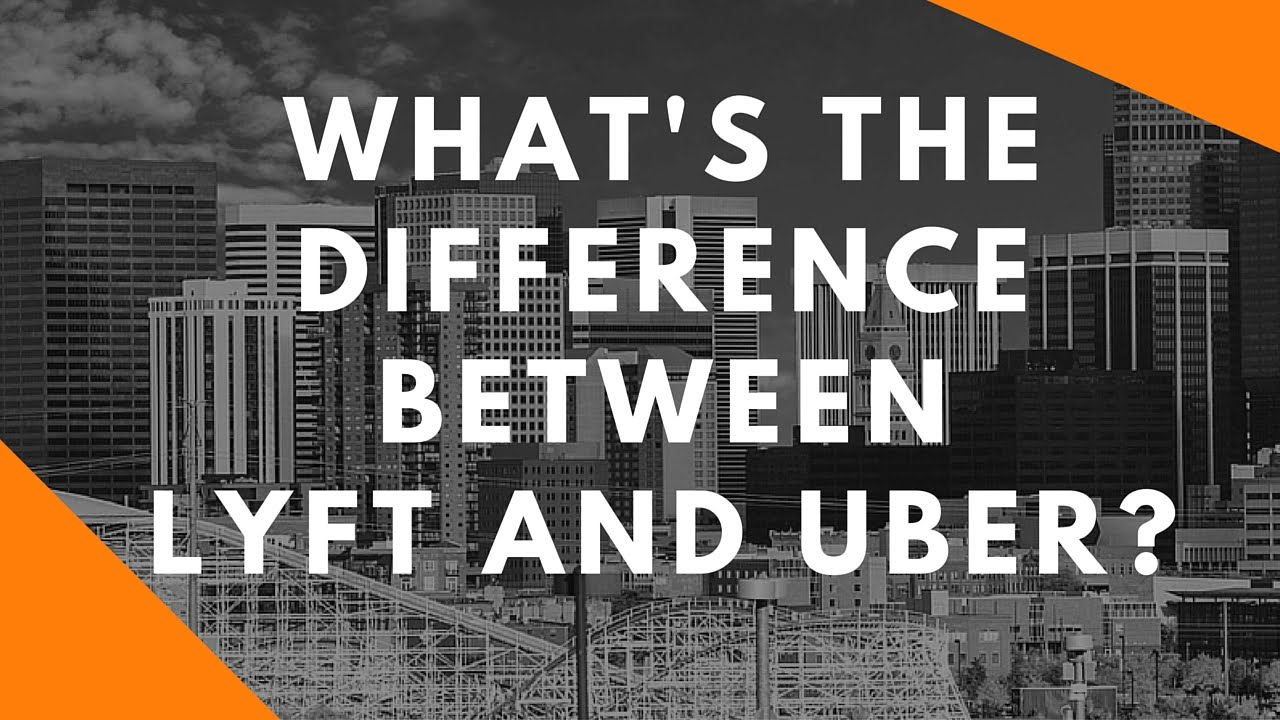 What's The Difference Between Lyft and Uber? - YouTube