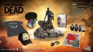 Upcoming The Walking Dead: The Telltale Definitive Series Collectors Packs