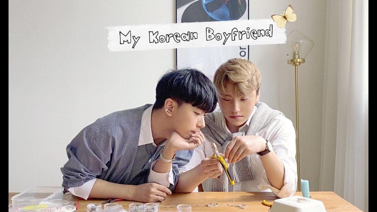 [ 👨❤️👨게이커플🏳️🌈] 음란마귀들의 악세사리 만들기 (구독자 증정 이벤트) / Korean gay couple Vlog 🇰🇷👬❤️ (ENG SUB)