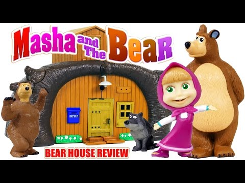 Thumbnail: Masha and the Bear Build the Bear House Toys from Cartoon Review