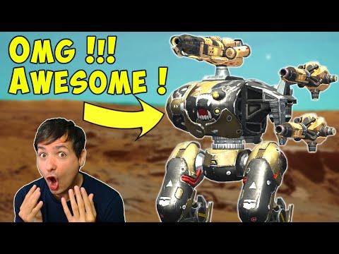 OMG! BEST CERBERUS with Ember & Igniter? War Robots Mk2 Gameplay WR