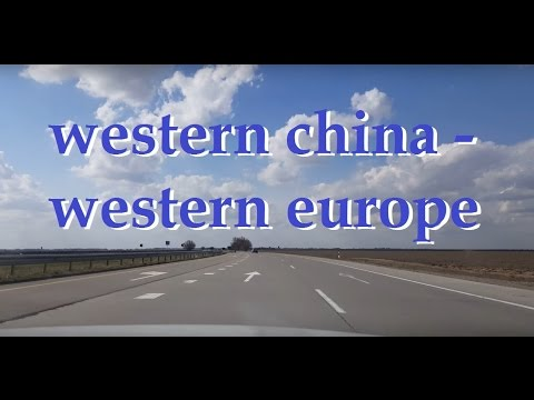 Western China - Western Europe Highway - 1 Minute Story NS