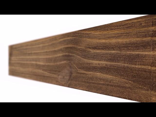 Linha Rústica - revestimento em madeira estilo demolição - Direto da Fábrica