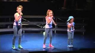 Lil' Sis sings -